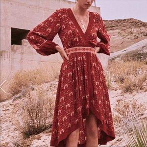 XL SPELL & THE GYPSY JEWEL SOIRÉE DRESS COOPER